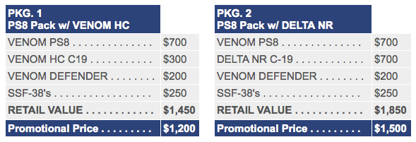 Shunyata Venom PS8 Power System Packages