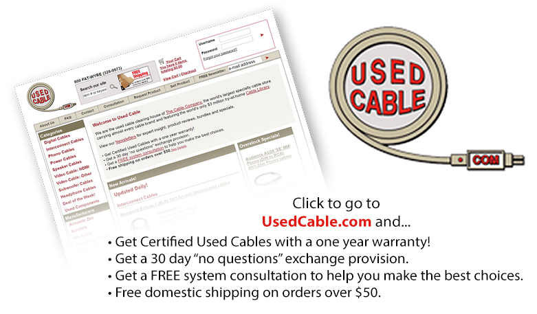 UsedCable.com Your source for great buys on used cables.